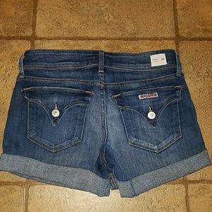 Women's sz 25 Hudson Croxley mid thigh shorts